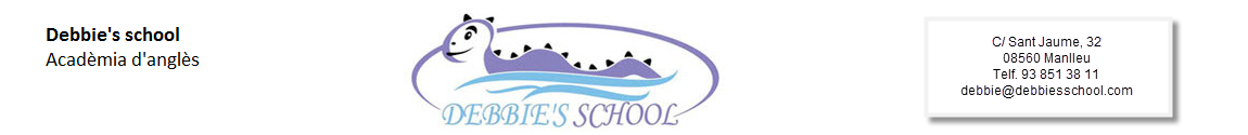 Debbie's school